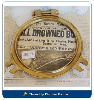 Solid Brass Porthole Cover