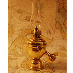 Gimbaled Cabin Oil Lamp